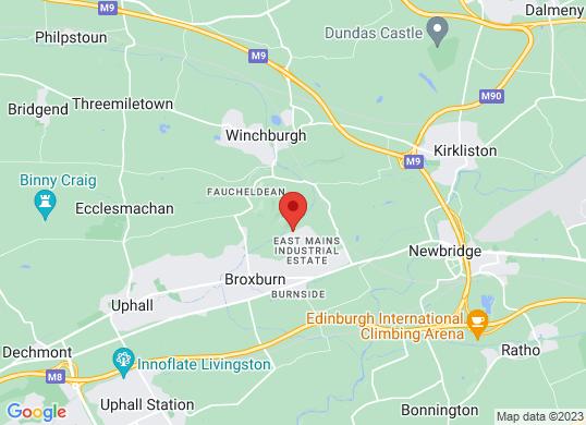 Van Monster Edinburgh's location