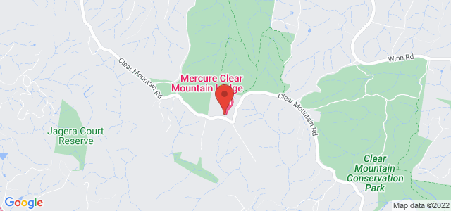 Mercure Clear Mountain Lodge location on map