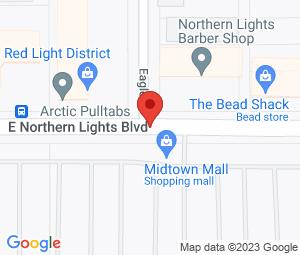 Northern Lights Barber Shop at Anchorage, AK 99503