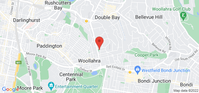 Chiswick Woollahra location on map