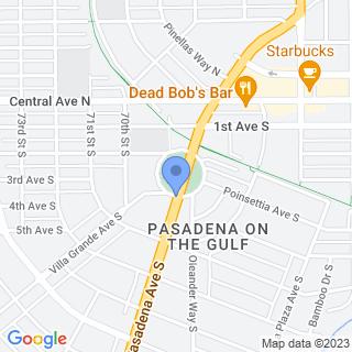 Palms Of Pasadena Hospital on a map