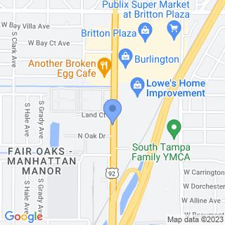 Florida Hospital Carrollwood on a map