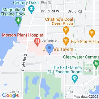 Morton Plant Hospital on a map