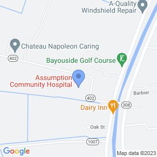 Assumption Community Hospital on a map
