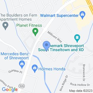 Christus Health Shreveport - Bossier on a map