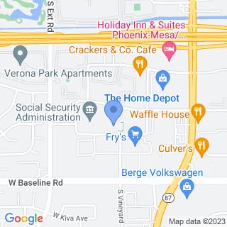 Hacienda Children's Hospital, Inc on a map