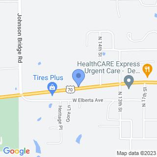 De Queen Medical Center, Inc on a map