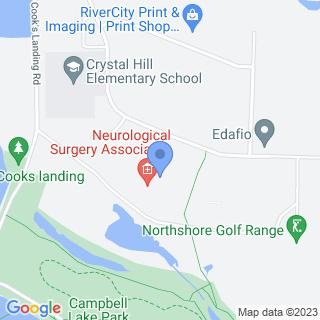 Arkansas Surgical Hospital on a map