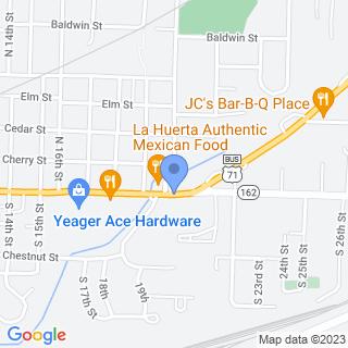 Sparks Medical Center - Van Buren on a map