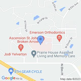 St John Broken Arrow, Inc on a map