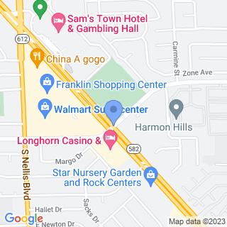 Harmon Hospital on a map