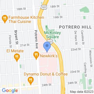 Zuckerberg San Francisco General Hosp & Trauma Ctr on a map