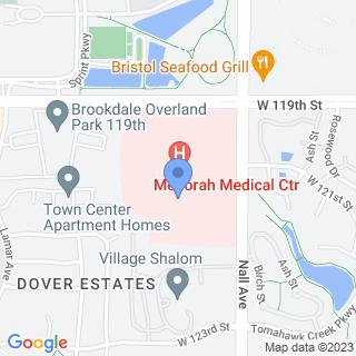 Menorah Medical Center on a map