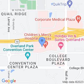 Children's Mercy Hospital Kansas on a map