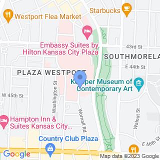 St Lukes Hospital Of Kansas City on a map