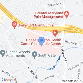 University Of Md Balto Washington Medical Center on a map