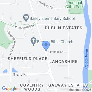 Dublin Methodist Hospital on a map