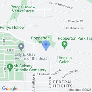 Shriners Hospitals For Children - Salt Lake City on a map