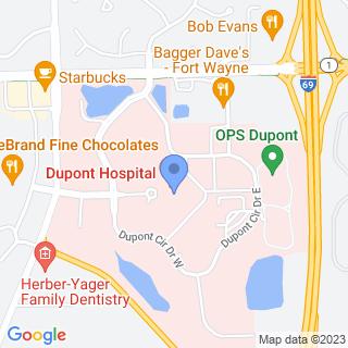 Dupont Hospital Llc on a map