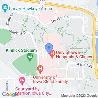University Of Iowa Hospital & Clinics on a map