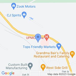 Kane Community Hospital on a map