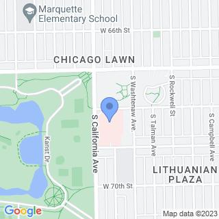 Holy Cross Hospital on a map