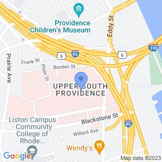 Rhode Island Hospital on a map