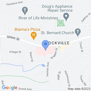 Rockville General Hospital on a map