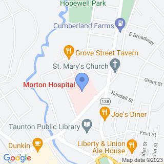 Morton Hospital on a map
