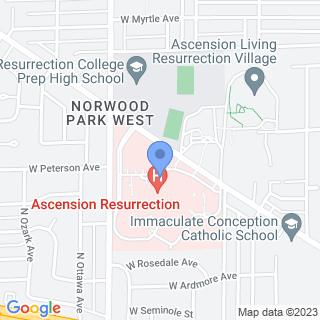 Presence Resurrection Medical Center on a map