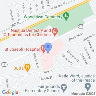 St Joseph Hospital on a map