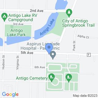 Aspirus Langlade Hospital on a map