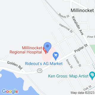 Millinocket Regional Hospital on a map