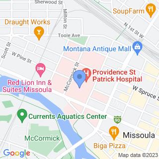 St Patrick Hospital on a map