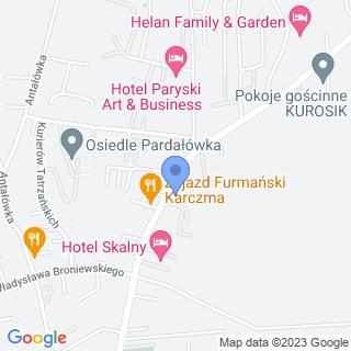 Apteka Tatrzańska na mapie