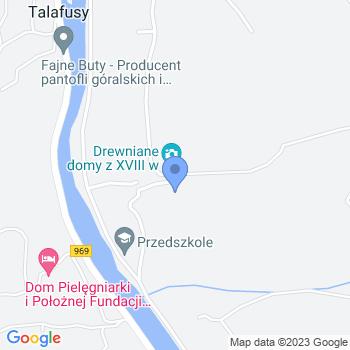 Akademia Przedszkolaka Niepubliczne Przedszkole w Tylmanowej map.on