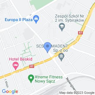 Kuguar Sport na mapie