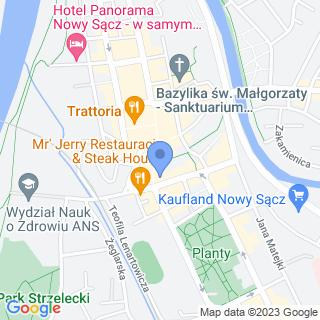 """Agencja Ubezpieczeniowa """"Krokus"""" na mapie"""