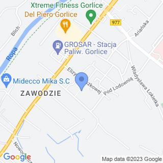 Miejskie Przedszkole nr 4 im. Ignacego Łukasiewicza na mapie