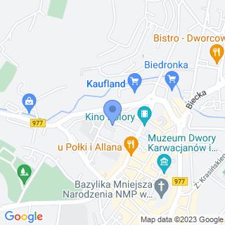 Miejskie Przedszkole nr 1 na mapie