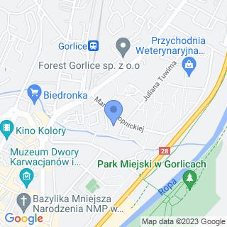 Gorlicki Klub Piłki Siatkowej na mapie