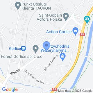 Rower Expert na mapie