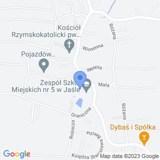Przedszkole Miejskie nr 15 w Jaśle na mapie