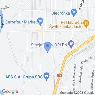Przedszkole Miejskie nr 6 w Jaśle na mapie