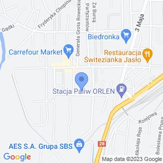 Uczniowski Klub Sportowy Akademia Sportów Walki Judo-Jasło na mapie