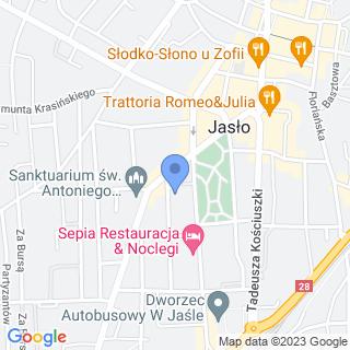 Przedszkole Miejskie nr 10 w Jaśle na mapie