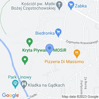 Przedszkole Miejskie nr 11 w Jaśle na mapie