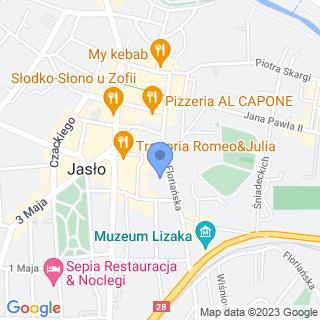 Przedszkole Miejskie nr 3 w Jaśle na mapie