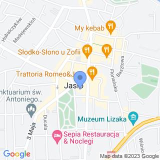Stowarzyszenie Miłośników Jasła i Regionu Jasielskiego na mapie