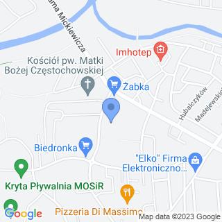 Przedszkole Miejskie nr 9 z Oddziałami Specjalnymi i Oddziałami Integracyjnymi w Jaśle w Zespole Szkół Miejskich nr 3 w Jaśle na mapie